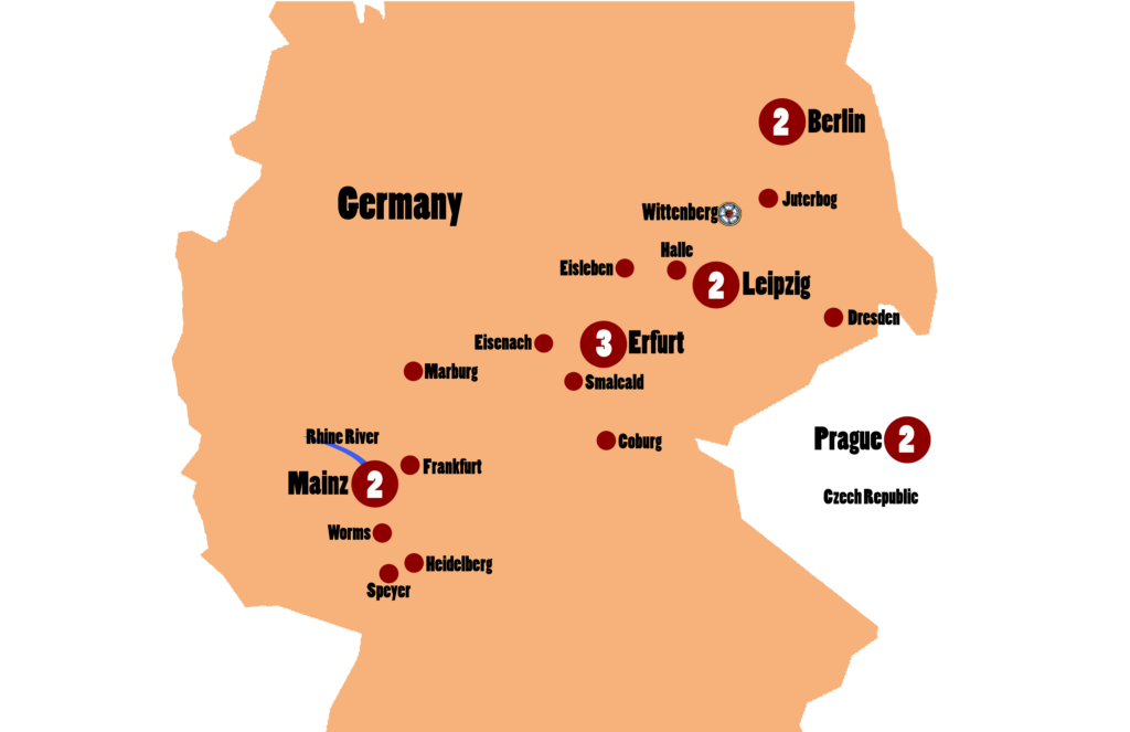 Luther Bach Reformation Tour 12 Days From Frankfurt To